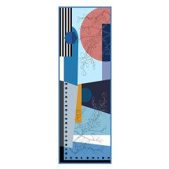 [品牌:ytang/羿唐]羿唐丝绸苏州原创美丝缎长巾披肩优雅高贵真丝丝巾小园香径系列图片