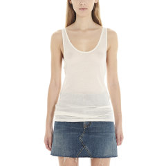 SAINT LAURENT PARIS/SAINT LAURENT PARIS 21年春夏 女士服装 女装 女性 女士短袖T恤 504959YB2OZ图片