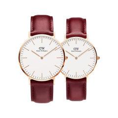 Daniel Wellington/丹尼尔惠灵顿 新春限定款情侣对表 女士手表送女生新年礼物图片