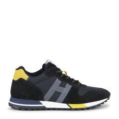 2020春夏新品Hogan 男士 绒面小牛皮鞋面 H383系列 休闲运动鞋图片