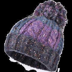 卡蒙大头围针织毛球毛线帽女秋冬季保暖包头帽日系可爱羊毛套头帽图片