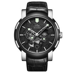 Kronsegler/坤格手表男士手表防水夜光自动机械表 德国进口手表 陨石系列手表图片