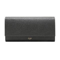 【现货秒发】CELINE/赛琳女士牛皮革长款钱包钱夹10B563BEL图片