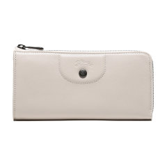 Longchamp/珑骧 19秋冬 新品女士钱包 LEPLIAGECUIR系列羊皮长款钱夹 3418 757图片