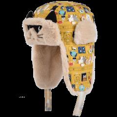 卡蒙3-6岁儿童冬季防寒雷锋帽男童保暖护耳帽宝宝户外保暖滑雪帽图片