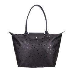 Longchamp/珑骧 女士尼龙LE PLIAGE星星饺子包 手提包 MS08-L1899437001图片