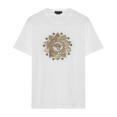 【SS20】20春夏VERSACE/范思哲黑金/金色/白金色男士T恤【官方授权】图片