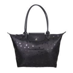 Longchamp/珑骧 女士尼龙LE PLIAGE星星饺子包  手提包 MS08-L2605437001图片