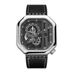 AGELOCER/艾戈勒 手表男 新款大爆炸 男表 男士机械表全自动 手表 镂空方形男表大表盘潮表图片