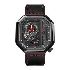 【明星同款】AGELOCER/艾戈勒 手表男 新款大爆炸 男表 男士机械表全自动 手表 镂空方形男表大表盘潮表图片