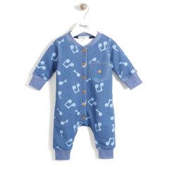 THE BONNIEMOB 男/女婴 婴幼儿连体衣2563图片