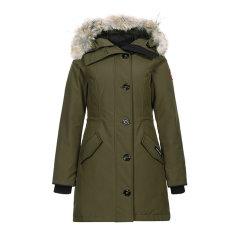 【现货秒发】CANADA GOOSE/加拿大鹅 Rossclair 派克大衣 女士羽绒服 2580L图片