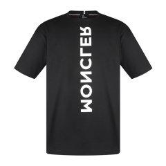 Moncler/蒙克莱男士短袖T恤全棉胸前字母袖子雄鸡印花MR1E4T0018001950.83927图片