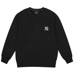 MLB 春秋长袖圆领卫衣 男女情侣款 时尚休闲 舒适宽松 棉质大码上衣 31MTR1941图片