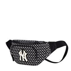MLB MONOGRAM系列老花腰包 NY刺绣 运动休闲 男女同款 胸包 挎包 32BGC9911图片