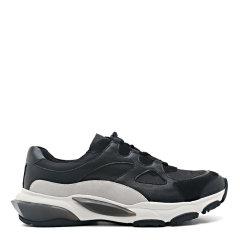 【2020新款】365DAYS  时尚小黑鞋英伦潮鞋青年皮鞋男士休闲运动鞋E27185102图片