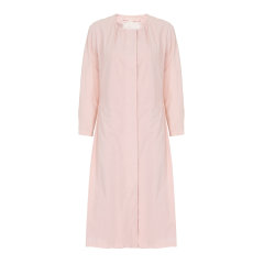 EXCEPTION/例外 原创设计棉长款圆领典雅大气连衣裙女-女士连衣裙图片