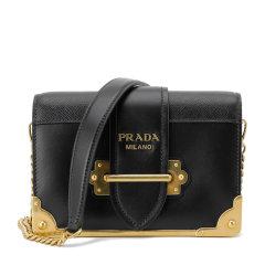 PRADA/普拉达 女士Prada Cahier皮革链条斜挎包 1BH018_2BB0_V_WCH 2020年春夏图片