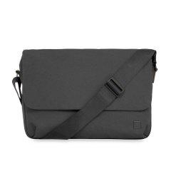 KNOMO/KNOMO 凯姆顿男士织物单肩斜挎包 横款磁扣开合大容量商务单肩包简约背包图片