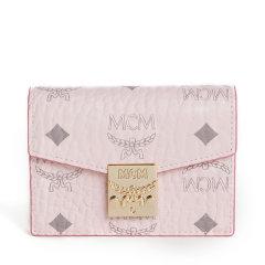 【20春夏新款】MCM/MCM MCM/MCM 女士粉色PVC卡包 MYA7SPA14图片