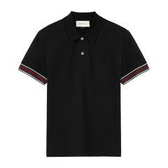 【爆款主推】GUCCI/古驰棉质男士短袖t恤408403-X7335【大陆现货】图片