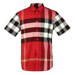 【20春夏】BURBERRY/博柏利巴宝莉衬衫格纹衬衫男士短袖衬衫8020855图片