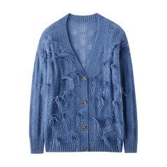 bebe/bebe 【Designer Womenwear】2020春季新品女士针织衫/毛衣含马海毛亮钻针织开衫含鸵鸟毛 130612图片