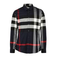 BURBERRY/博柏利巴宝莉衬衫男士长袖衬衫格纹衬衫8018111图片