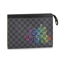Louis Vuitton/路易威登  男士 2020年新款 POCHETTE VOYAGE 中号手拿包图片