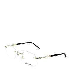 20年 新品 MontBlanc/万宝龙 简约 合金 男款 女款 光学镜架 长方形 无框 全框 近视 眼镜框 眼镜架 MB0071O MB0072O 55~58mm MontBlanc 万宝龙图片