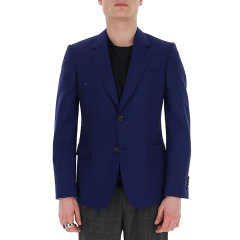 Alexander McQueen/亚历山大麦昆 20年春夏 服装 男性 蓝色 男士夹克 595146 QOU12 4110图片