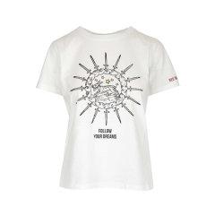 Red Valentino/Red Valentino 20年春夏 服装百搭 女性 女士短袖T恤 TR3MG04A4V3 0NO图片
