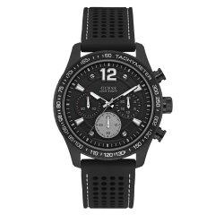 Guess/盖尔斯美国品牌男士石英腕表硅胶透气表带三眼型格帅气时尚运动百米防水W0971G1/W0971G2图片