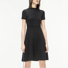 MO&Co./摩安珂女士连衣裙2020春季新品露腰镂空针织连衣裙MBO1DRS012图片