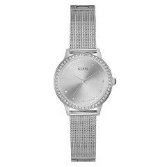 Guess/盖尔斯美国品牌女士石英腕表浅金/银灰优雅闪烁百搭W0647L7/W0647L6图片