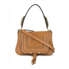 CHLOE/克洛伊 C Bag系列  女士沙灰色小牛皮金属logo链条包单肩包斜挎包图片