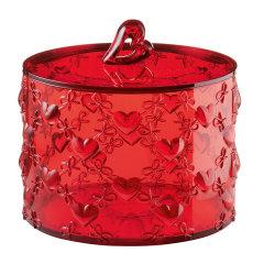 意大利进口心形收纳罐    爱心储物盒储物罐    利快guzzini首饰小物件收纳罐  礼物  居室摆件图片