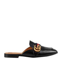 GUCCI/古驰 【20春夏新款】女士百搭舒适凉鞋平跟鞋低跟穆勒拖鞋女鞋多色可选图片