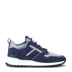 2020春夏新品TOD'S/托德斯 男士 绒面小牛皮鞋面 绒面小牛皮拼科技织物休闲 运动鞋图片