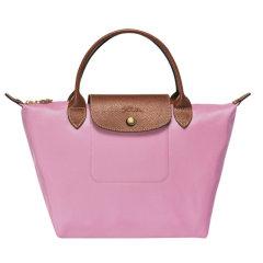 Longchamp/珑骧 珑骧 Le Pliage 女士中年,老年,孕妇,情侣尼龙系列藕粉色织物短柄可折叠手提包 1621图片