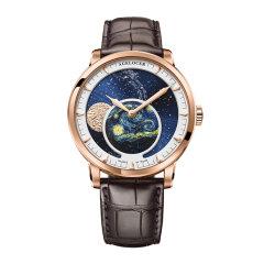 【梵高星空】AGELOCER/艾戈勒 手表 博世月相系列 男表 机械表全自动 手表男 全景背透80小时长动能图片