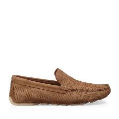 UGG 男士单鞋休闲平底开车鞋条纹透气款 1014642图片