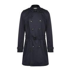BURBERRY/博柏利 长款男装纯棉翻领双排扣附腰带经典款男士风衣 男士外套大衣长款夹克80188301图片