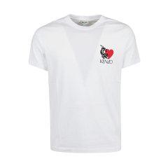 KENZO/高田贤三 20年春夏 服装 男性 男士短袖T恤 FA55TS0694W8_01图片
