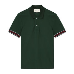 GUCCI/古驰男士棉质男士短袖T恤408321-X7331【北京同城闪送】图片