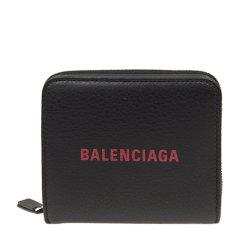 Balenciaga/巴黎世家 女士牛皮时尚LOGO标识方形手拿包钱包图片