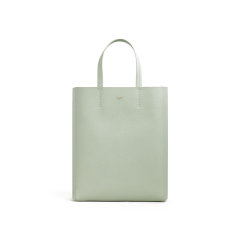 【包邮包税】CELINE/赛琳 2020春夏新款 CABAS系列 薄荷绿粒面小牛皮可斜挎手提包 189813XBA.30VD图片