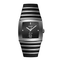 RADO雷达 银钻系列 高科技陶瓷 雷达男士手表 石英腕表 R13724702 watch 全球联保 RADO/雷达图片