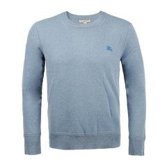 Burberry/博柏利  秋冬新款 服装 男装 服装 羊毛圆领骑士标志羊毛针织衫 男士毛衣图片