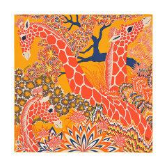 【礼盒装 礼物】HERMES/爱马仕 方形 真丝丝巾 美惠三女神 拼色 90cm图片